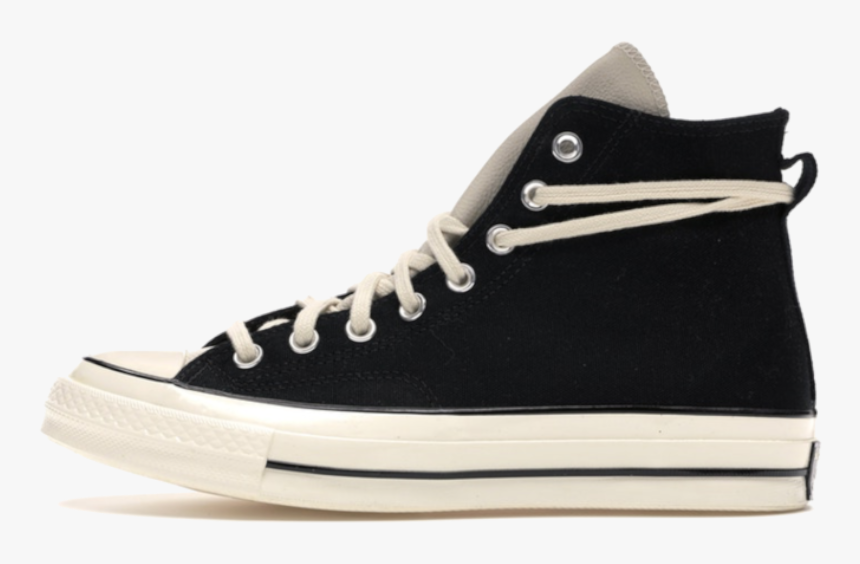 Converse Chuck Taylor All-star 70s Hi Fear Of God Black - Converse Chuck Taylor All Star, HD Png Download, Free Download
