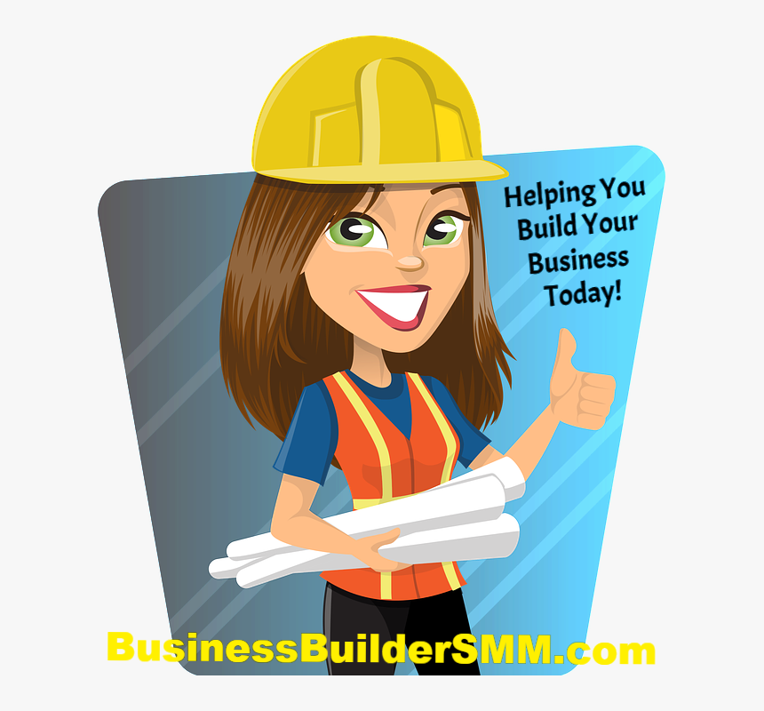 Clipart Girl Construction Worker Png, Transparent Png, Free Download