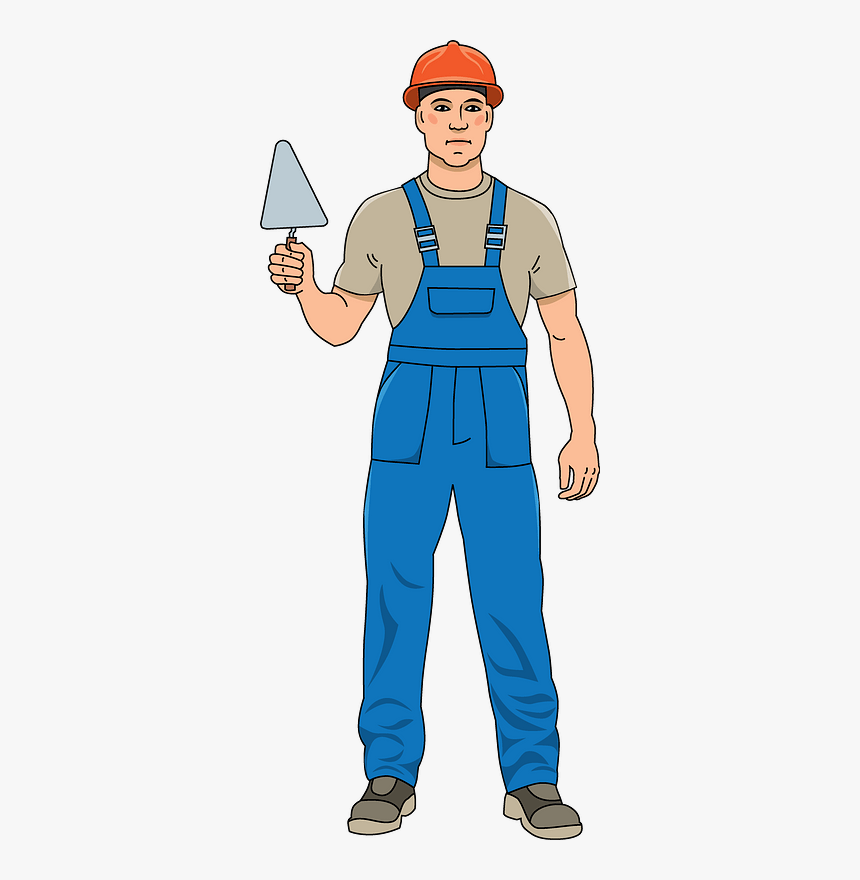 Construction Worker Clipart - Construction Worker Clipart Png, Transparent Png, Free Download