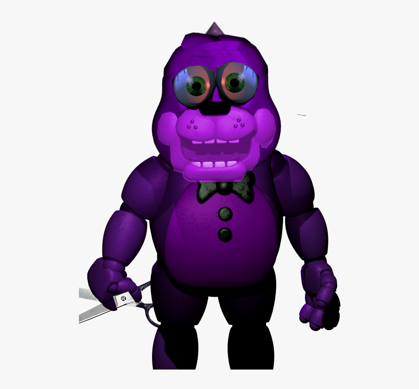 Bonzi Buddy Animatronic By Jacobsworld2012-d8zfvc9 - Fnaf Phantom Toy Freddy, HD Png Download, Free Download