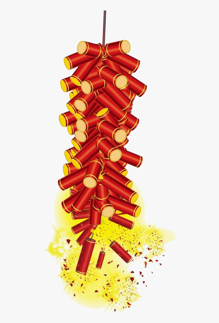 Firecrackers Png Image File - Chinese New Year Png, Transparent Png, Free Download