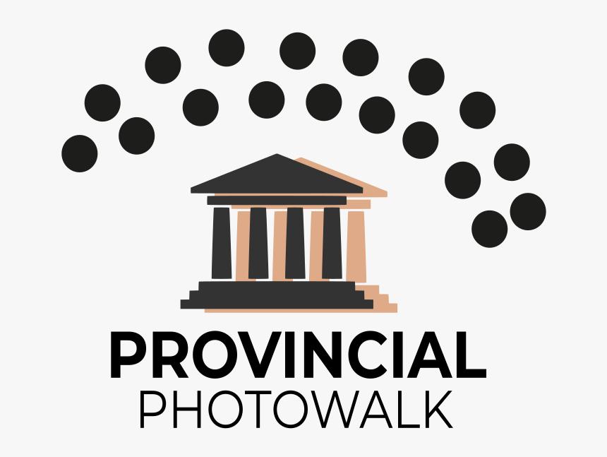 Provincial Photowalk Series Logo - Black And White 3d Mandala, HD Png Download, Free Download
