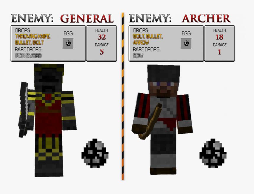 Minecraft Assassins Creed Mod, HD Png Download, Free Download