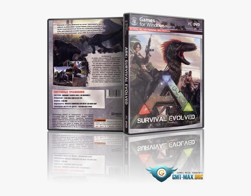 Survival Evolved V , Png Download - Ark Survival Evolved Диск, Transparent Png, Free Download