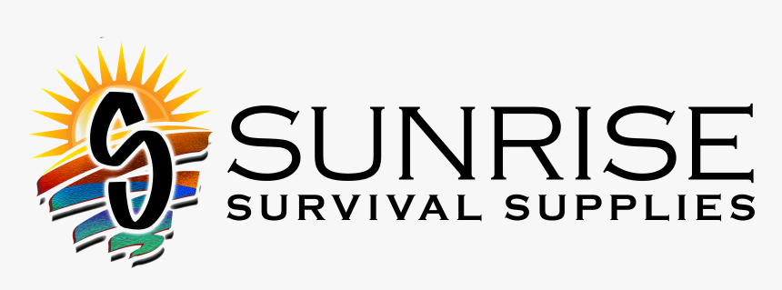 Sunrise Survival Supplies Logo Hz Blue, HD Png Download, Free Download