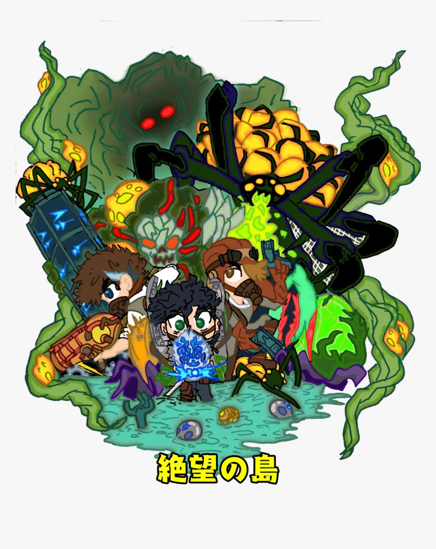 Zetsubo No Shima - Illustration, HD Png Download, Free Download
