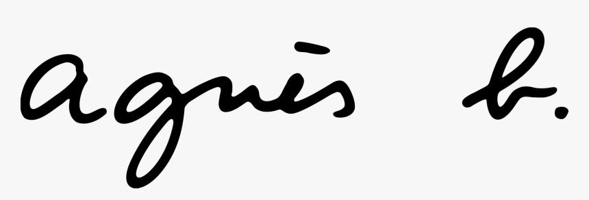 Teen Vogue Logo Vector - Logo Agnes B Png, Transparent Png, Free Download