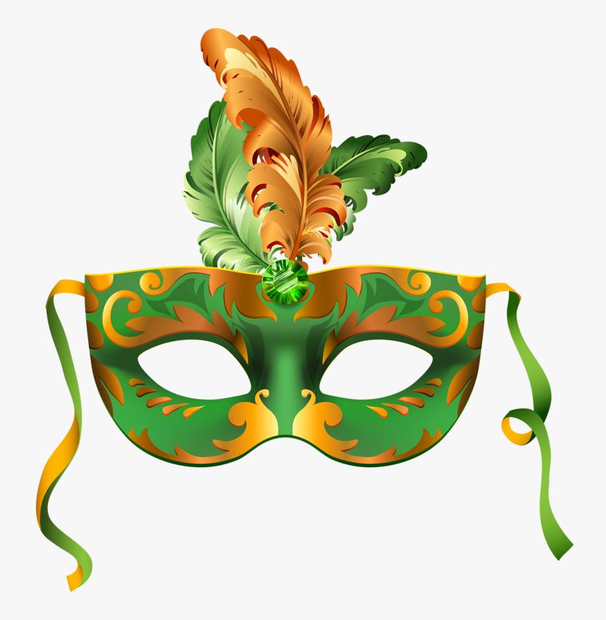 Открытка карнавальная маска