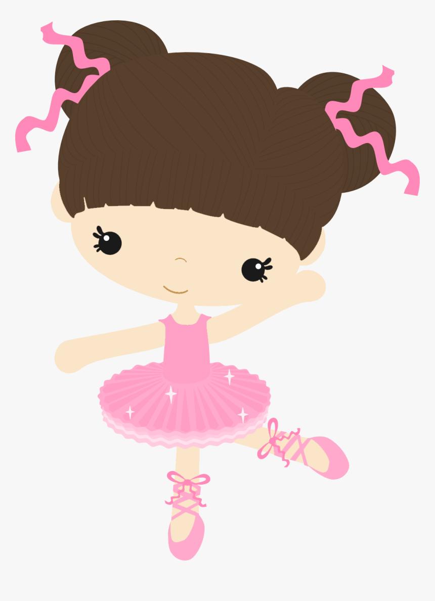Transparent Baby Ballerina Png - Bailarina De Ballet Bebe Animada, Png Download, Free Download