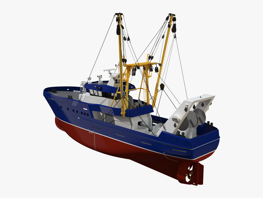 Fishing Ship Png - Trawler Beam, Transparent Png, Free Download