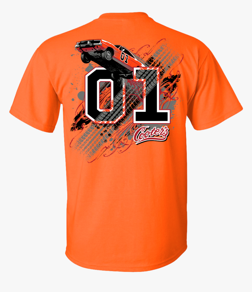 T Shirt Denver Broncos General Lee Jersey - Dukes Of Hazzard General Lee T Shirts, HD Png Download, Free Download