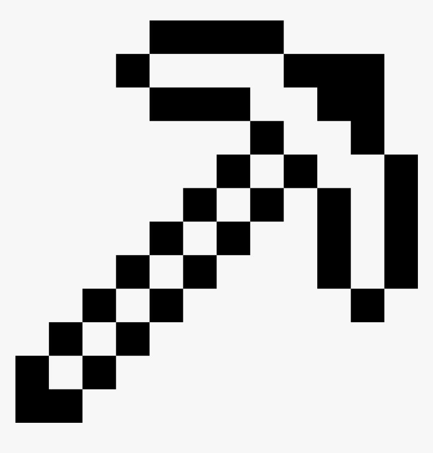 Picareta De Minecraft Icon , Png Download - Sword Minecraft Coloring Pages, Transparent Png, Free Download