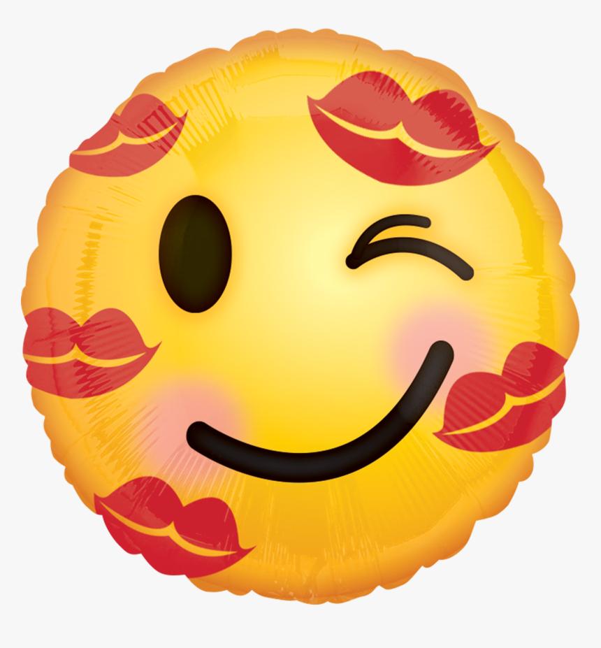 Transparent Balloon Emoji Png - Love You Kiss Emoji, Png Download, Free Download