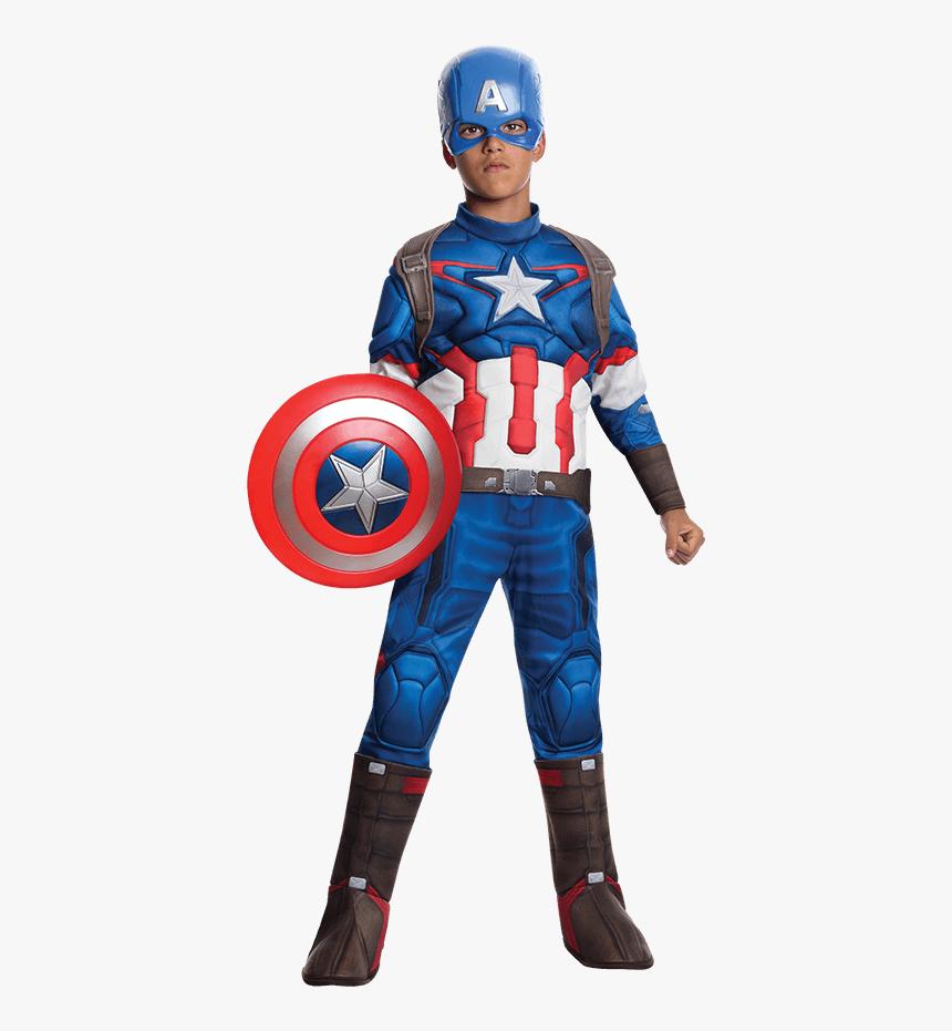Deluxe Captain America Kostüm KidsDeluxe Captain America