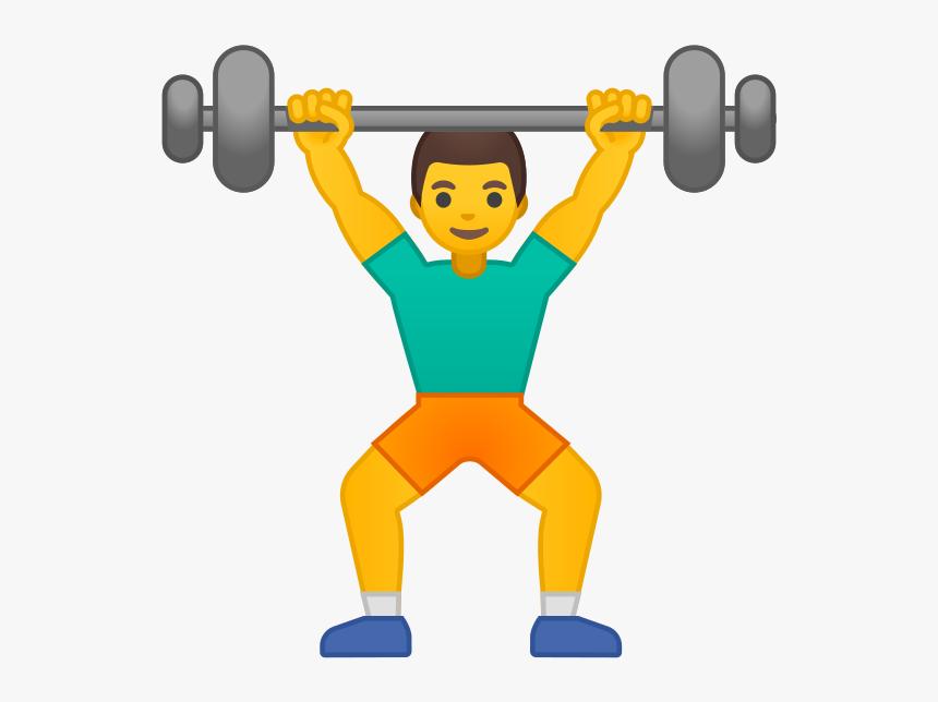 Gym Emoji, HD Png Download, Free Download