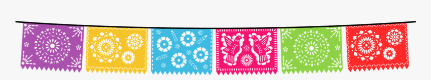 Mexican Banner Png - Clip Art Fiesta Banner, Transparent Png, Free Download