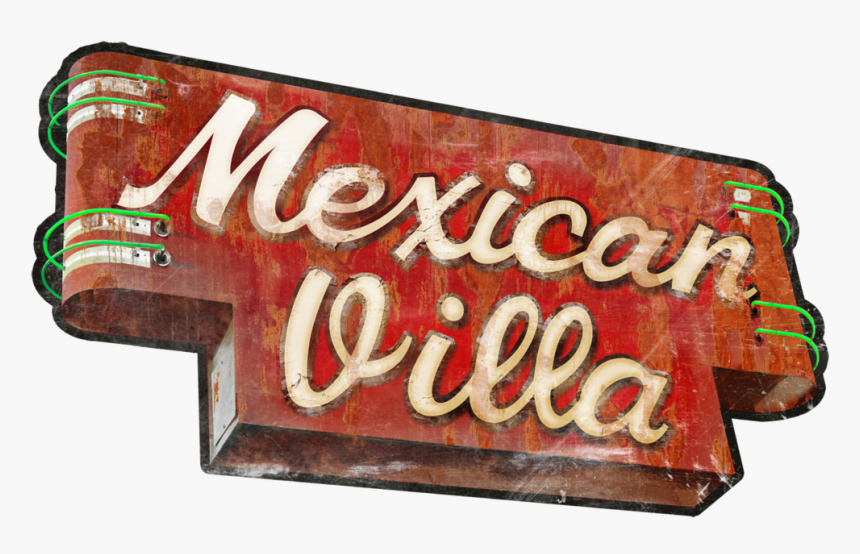 Mexican Banner Png , Png Download - Mexican Villa South, Transparent Png, Free Download