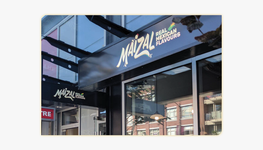 Maizal Live Lightbox Banner - Electronic Signage, HD Png Download, Free Download