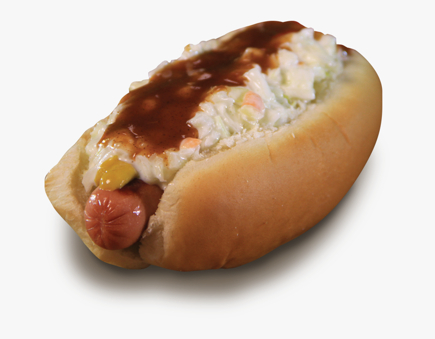 Transparent Hot Dog Png - Hot Dogs With Chili And Slaw, Png Download, Free Download
