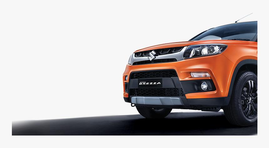 Car Rear Png - Maruti Suzuki Vitara Brezza Lakh, Transparent Png, Free Download