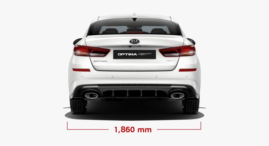 Kia Optima Dimension Rear - Executive Car, HD Png Download, Free Download