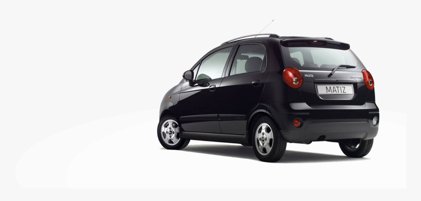 Car Rear View P - Chevrolet Matiz, HD Png Download, Free Download