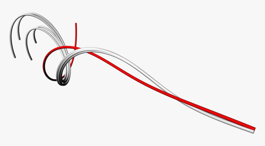 Red Abstract Lines Transparent Images Png - Abstract Line Blue Red Background Png, Png Download, Free Download