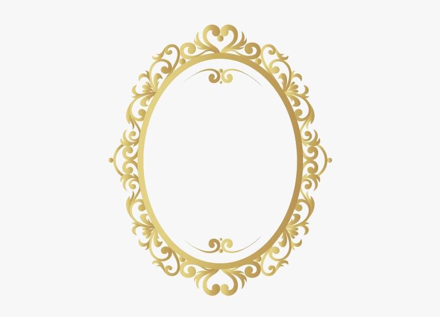 Golden Vintage Frame Png Image - Golden Frame Vector Png, Transparent Png, Free Download