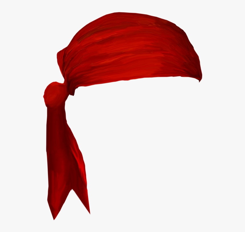 Transparent Turban Clipart - Red Head Bandana Png, Png Download, Free Download