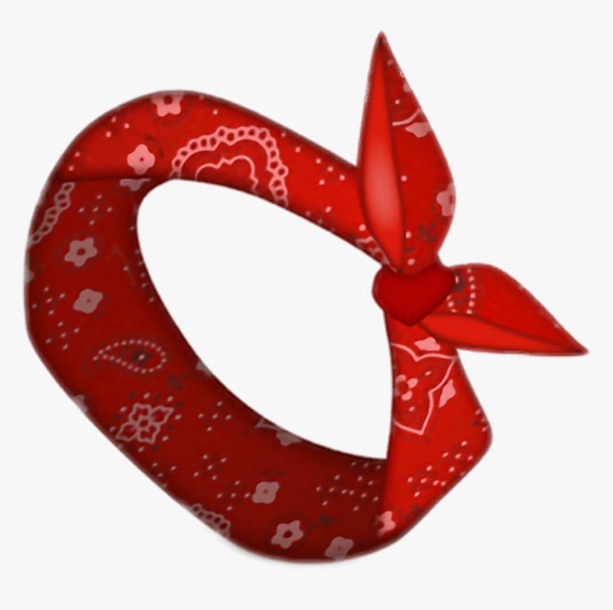 Sticker Emoji Bandana Freetoedit Clipart , Png Download - Red Bandana Emoji, Transparent Png, Free Download