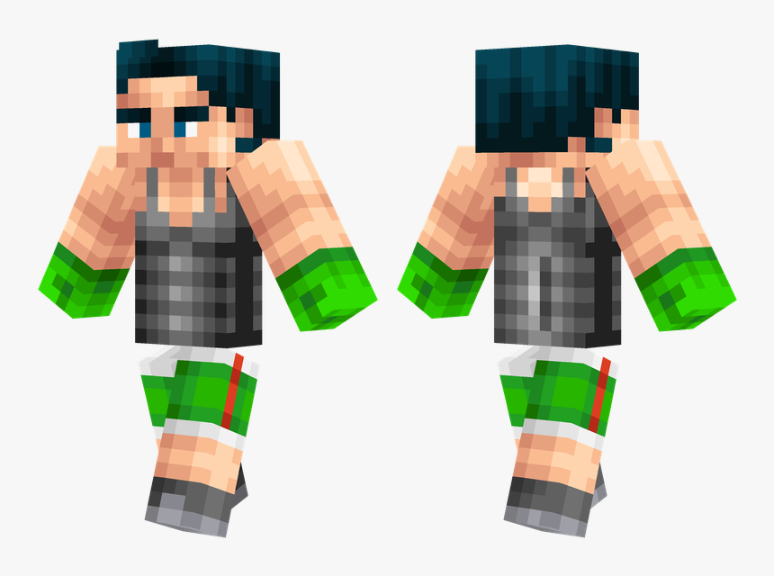 Thumb Image - Skin De Little Mac Minecraft, HD Png Download, Free Download
