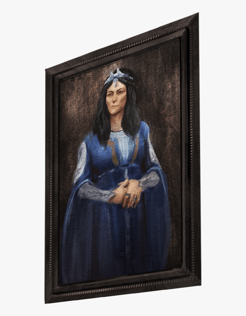 A Portrait Of A Witch Wearing Blue Robes And A Tiara Rowena Ravenclaw Wizards Unite Hd Png Download Kindpng