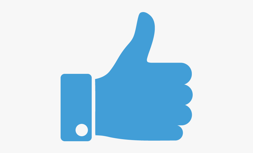 Thumbs Up Youtube Transparent, HD Png Download, Free Download
