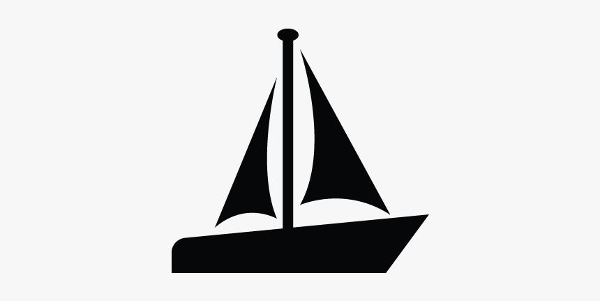 Boat, Sail, Sailboat, Motor Boat, Sailing Icon - Boat Icon Transparent, HD Png Download, Free Download