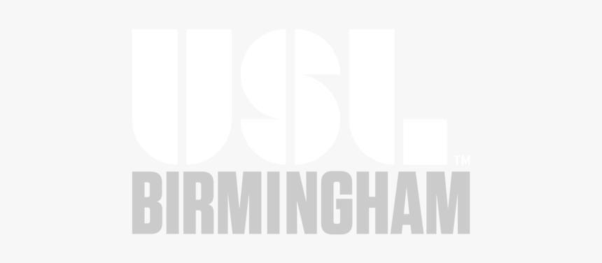 Usl Birmingham Interim Logo - Black-and-white, HD Png Download, Free Download