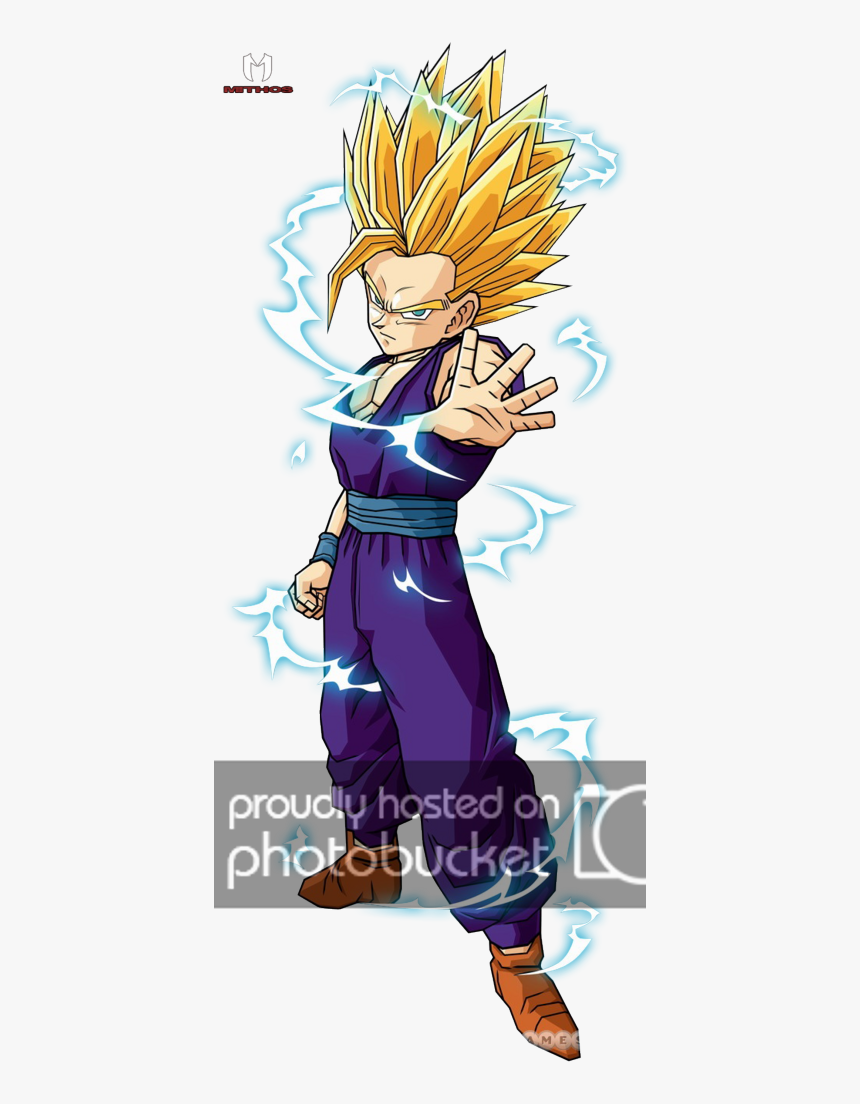 Transparent Rayos Electricos Png - Dragon Ball Character Gohan, Png Download, Free Download