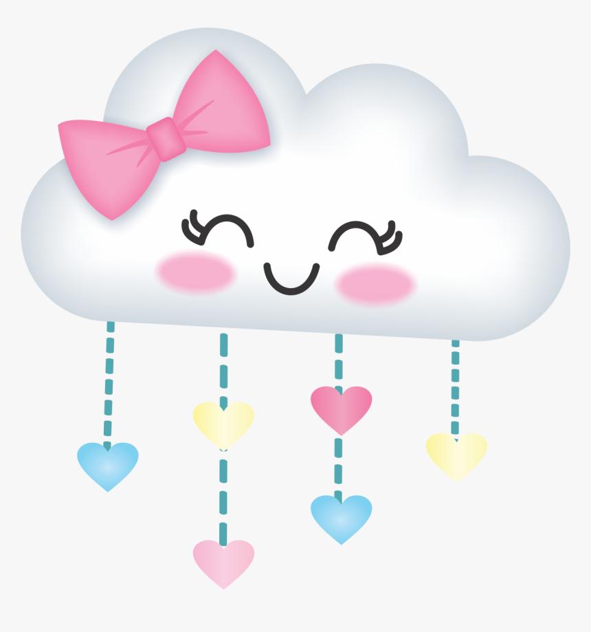 Clip Art Pin By Sabrina Santos - Convite De Cha De Bebe Nuvem, HD Png Download, Free Download