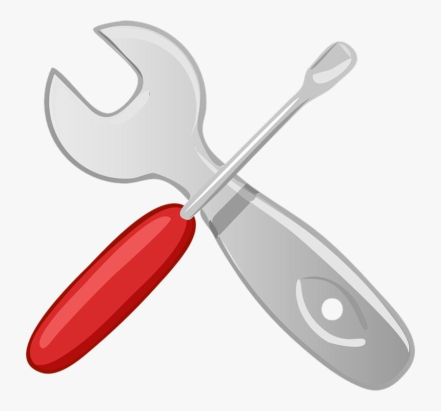 Llave, Destornillador, Mango Aislado, Cruzado - Hardware Clipart, HD Png Download, Free Download