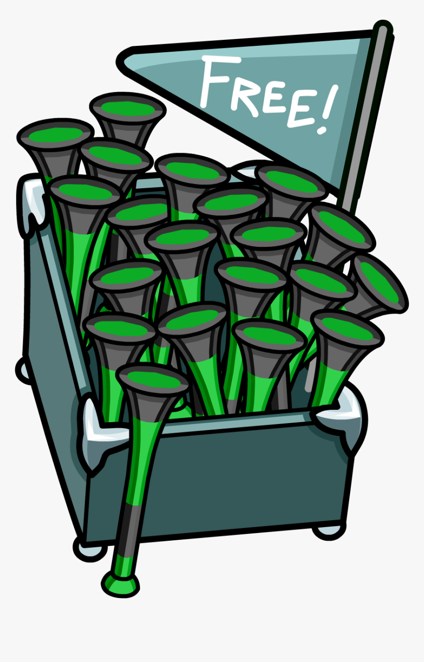 Penguin Cup Dock Space Squids Vuvuzela Stand - Portable Network Graphics, HD Png Download, Free Download