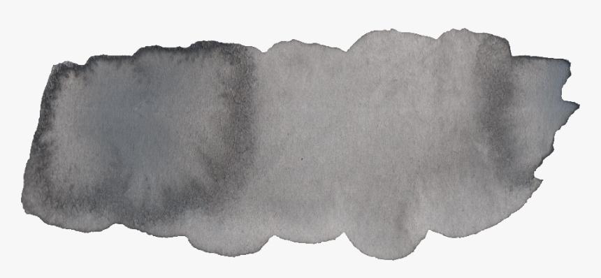 Gray Brush Stroke Png , Png Download - Brush Stroke Gray Watercolor, Transparent Png, Free Download