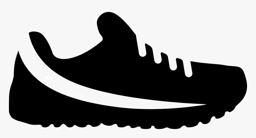 Running Shoe Print Png - Shoes Icon Png, Transparent Png, Free Download