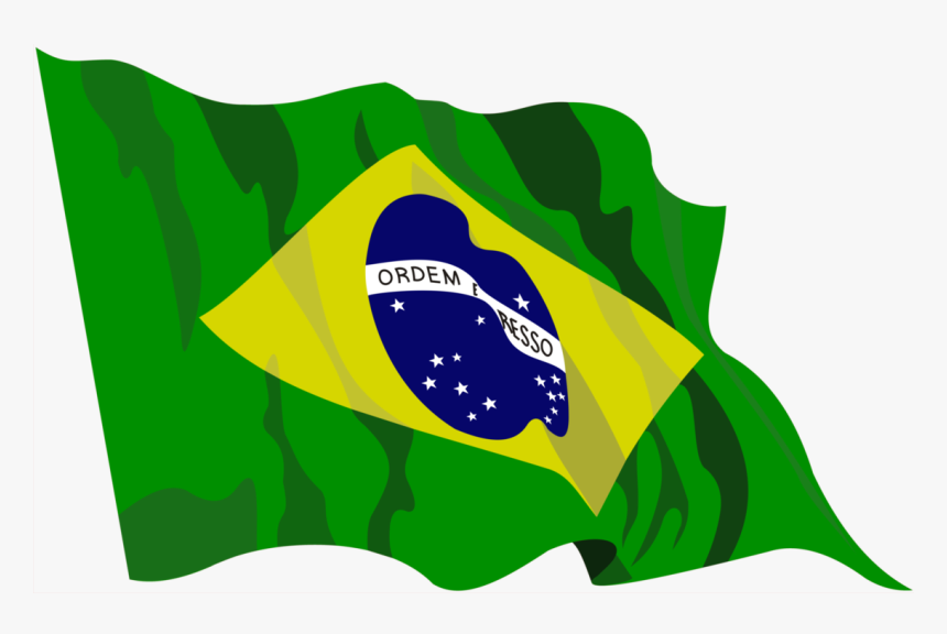 #brazil #brazilflag #flag #football #worldcup2018 #worldfootball - Brazil Flag Vector Png, Transparent Png, Free Download
