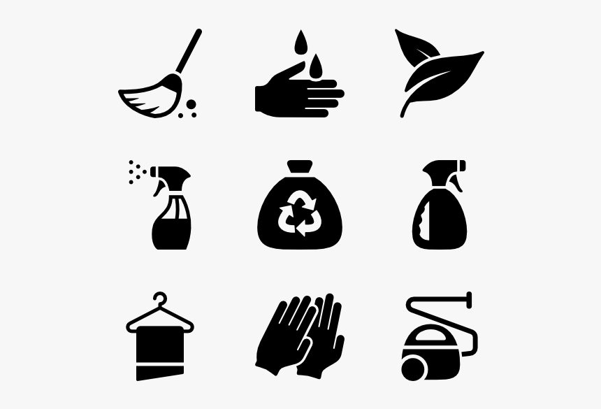 Cleaning Icon Packs - Cleaning Icon Png, Transparent Png, Free Download