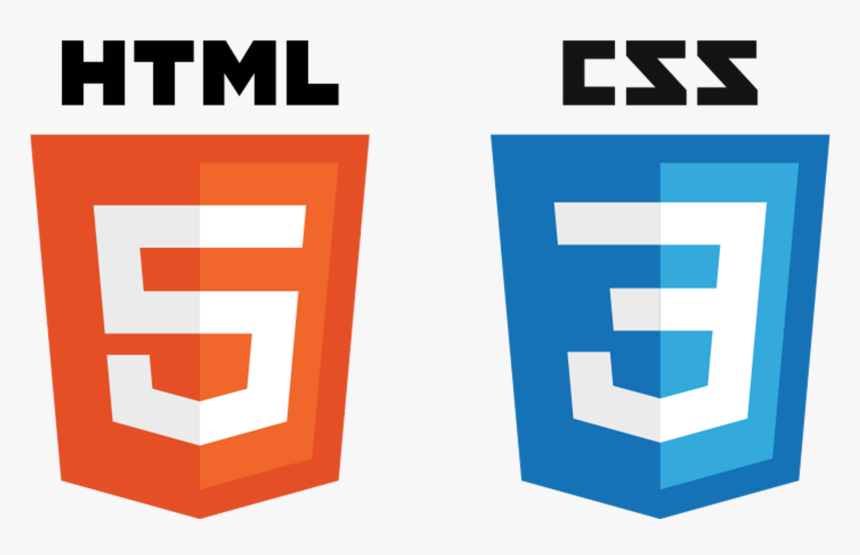 Html5css3badges - Html Css Logo Png, Transparent Png, Free Download