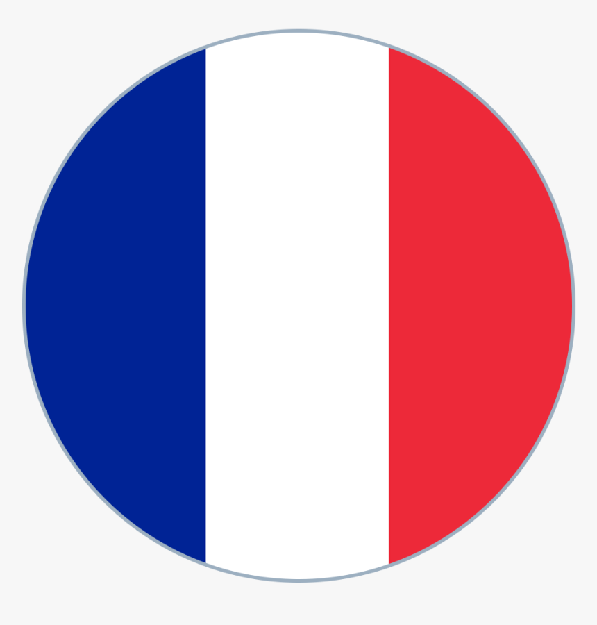 France Flag Round Medium - France Flag Dream League Soccer, HD Png Download, Free Download