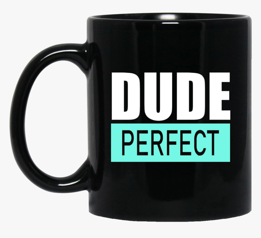 Dude Perfect Black Mug - Dude Perfect Coffee Cup, HD Png Download, Free Download
