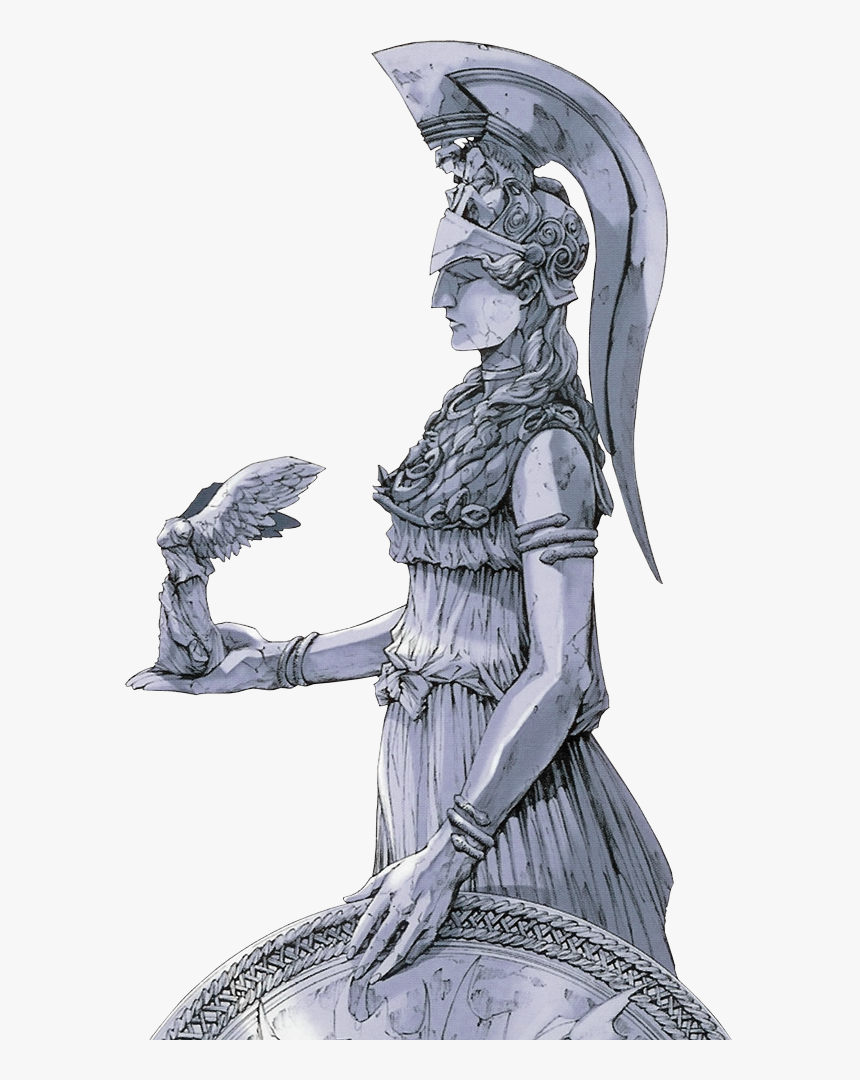Saint Seiya Athena Statue, HD Png Download, Free Download