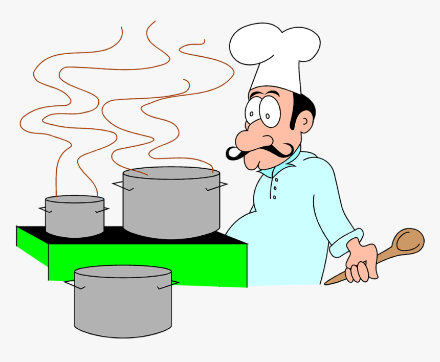 Cartoon Chef, HD Png Download, Free Download