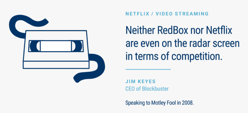 Blockbuster Quotes About Netflix, HD Png Download, Free Download