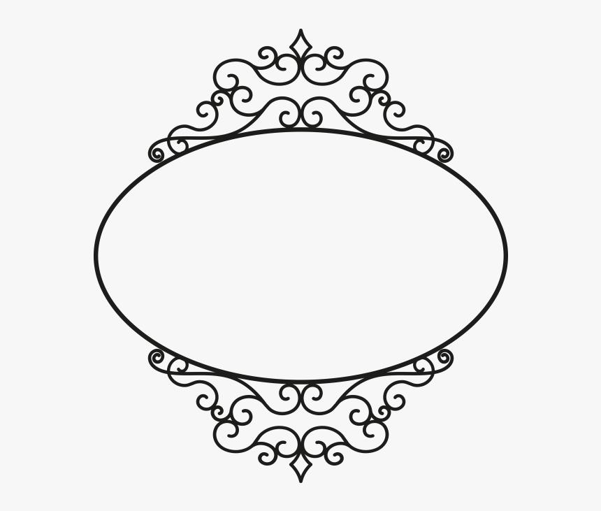 Ornament Frame - Circle - Circle Ornament Png, Transparent Png, Free Download